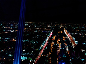 The city from Kingdom tower