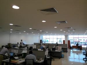 Het kantoor, zaal 1 vd 5
