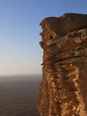 Edge of the world with Abaya